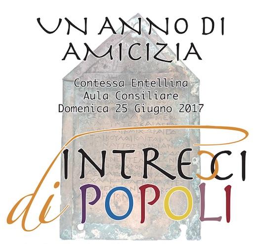 """""""Intrecci di popoli"""" a Contessa Entellina"""
