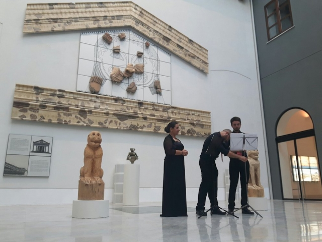 """Consegna del premio """"G. Nenci"""" – Museo A. Salinas, Palermo. 2018"""