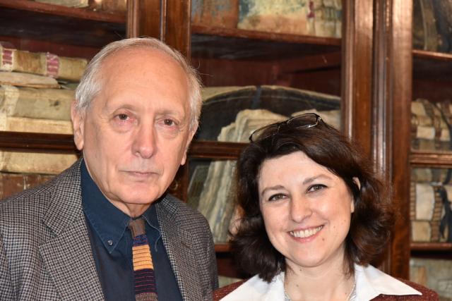 Andrea Giardina e Anna Magnetto