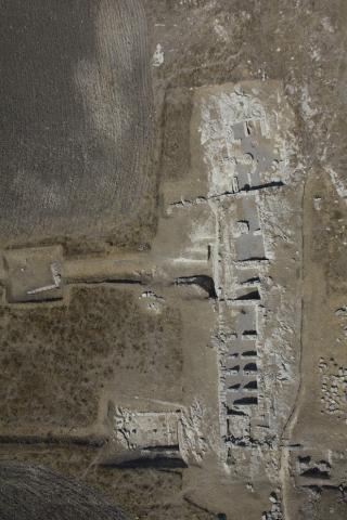 Entella. Area centrale. Foto da drone.