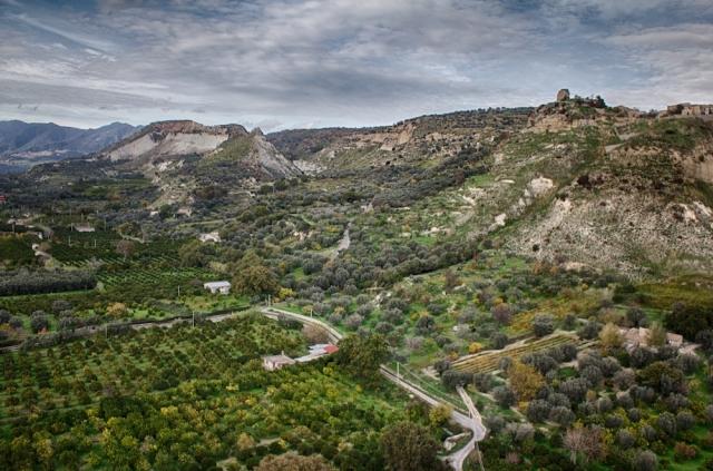 Territorio di Locri. Panoramica da drone. 2017.