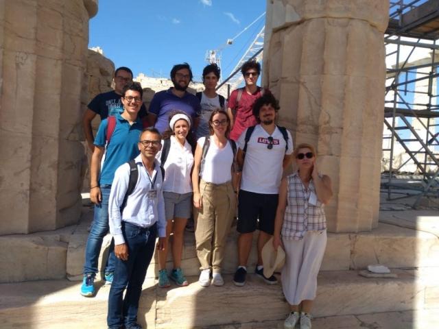 Visita didattica in Grecia degli allievi del corso di archeologia 2019