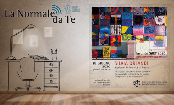 #QuindiciMinutiCon … Silvia Orlandi